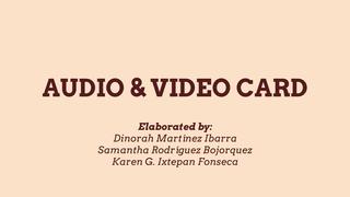 Ficha de audio o video